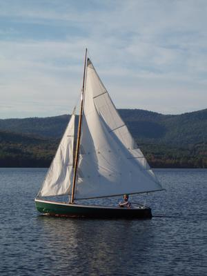 Used N.g. Herreshoff Biscayne Bay 14 Skiff Daysailer Sailboat For Sale
