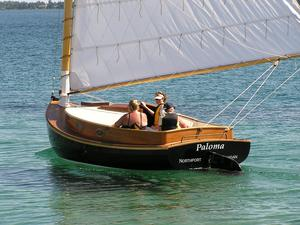 Used Fenwick Williams Cat Boat Antique and Classic Boat For Sale