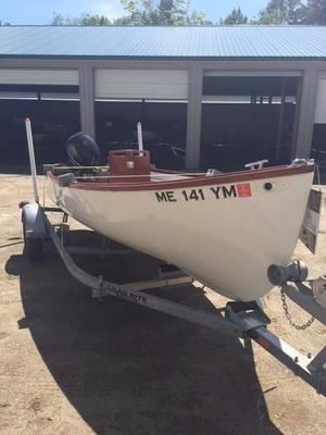Used Joel White Jericho Bay Lobster Skiff Antique and Classic Boat For Sale