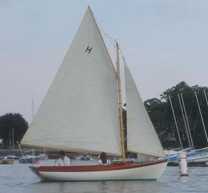 New Herreshoff 12 1/2 Replica Daysailer Sailboat For Sale