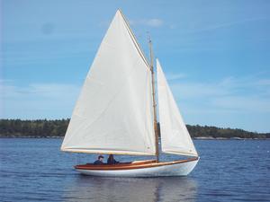New Herreshoff Fish Class Daysailer Sailboat For Sale