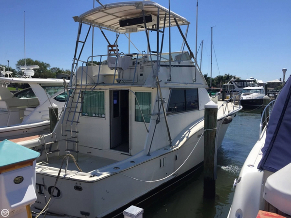 Used Hatteras 43 Sports Fishing Boat For Sale