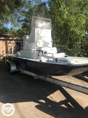 Used Explorer Tunnel Vee 23 Flats Fishing Boat For Sale