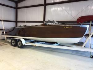 Used Hugh Saint Triple Cockpit Runabout Tender Boat For Sale