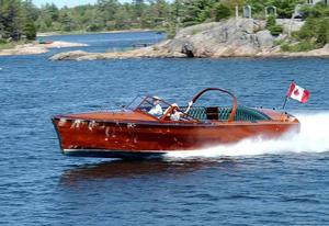 Used Vic Carpenter Custom Gentleman's Runabout Tender Boat For Sale