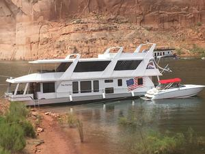 Used Stardust Cruisers The Patriot House Boat For Sale