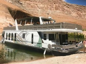 Used Sharpe Halekulani Trip 2 House Boat For Sale