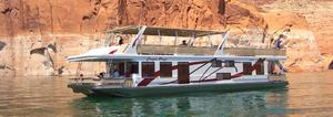 Used Sumerset Canyon Breeze Trip 12 House Boat For Sale