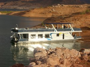 Used Sumerset Blue Moon Trip 1 House Boat For Sale