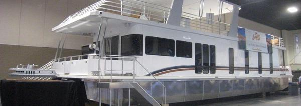 Used Destination Yachts Starchaser Trip 4 Barge Boat For Sale