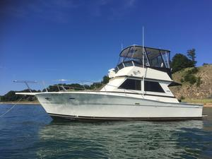 Used Viking 35 Convertible Cruiser Boat For Sale