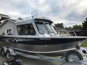 Used Hewescraft Searunner Freshwater Fishing Boat For Sale