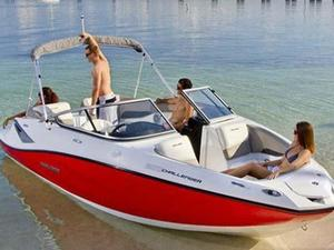 Used Sea-Doo Sport Boats 23 Challenger High Performance Boat For Sale