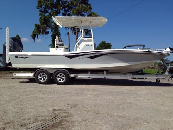 New Ranger 2510 Bay Boat For Sale