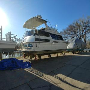 Used Carver 38 Aft Cabin Flybridge Boat For Sale