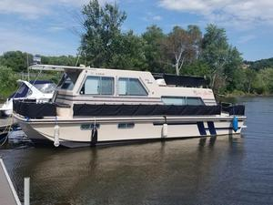 Used Holiday Mansion 40 Aqua Home House Boat For Sale