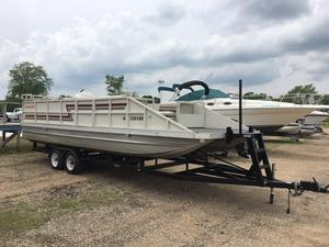 Used Clark 24' Pontoon Boat For Sale