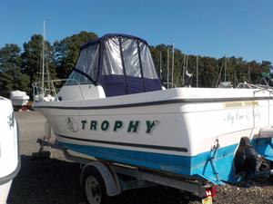 Used Trophy WA Saltwater Fishing Boat For Sale