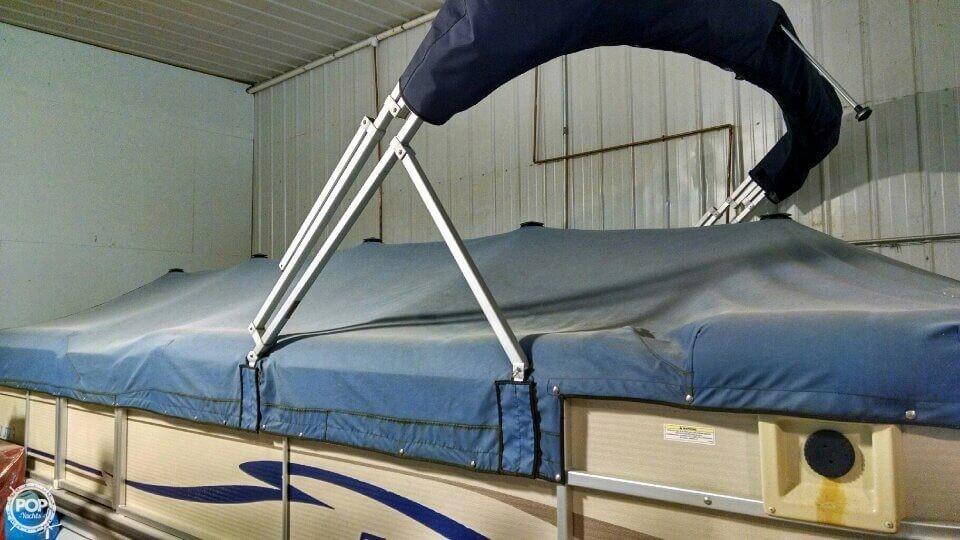 Used Premier Pontoons 250 RE Sunsation Pontoon Boat For Sale