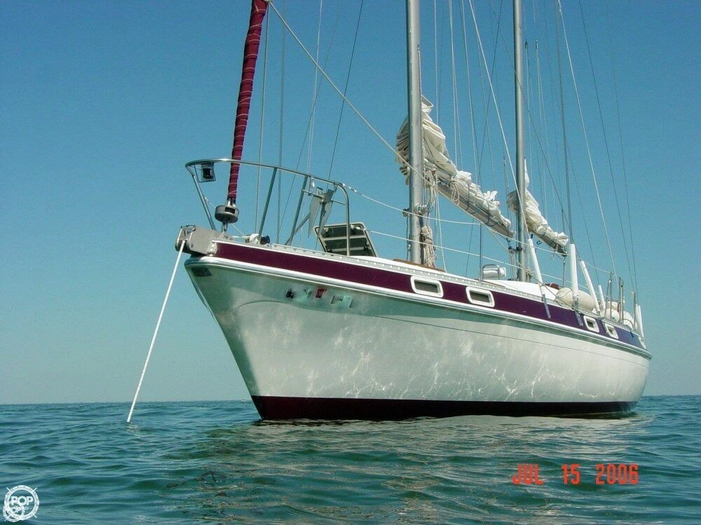 Used Morgan 41 KE Out Island Ketch Sailboat For Sale