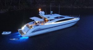 Used Mangusta 105 Mega Yacht For Sale
