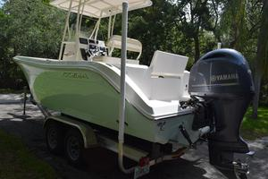 Used Cobia 220 CC Center Console Fishing Boat For Sale