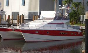 Used Jeantot Euphorie 44 Power Catamaran Boat For Sale