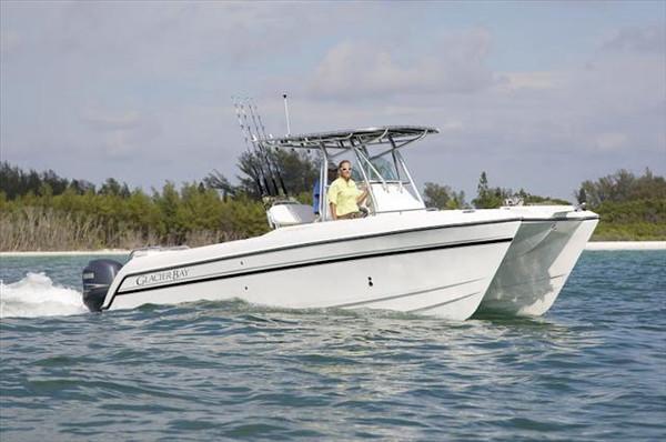 New Glacier Bay Power Catamaran Boat For Sale