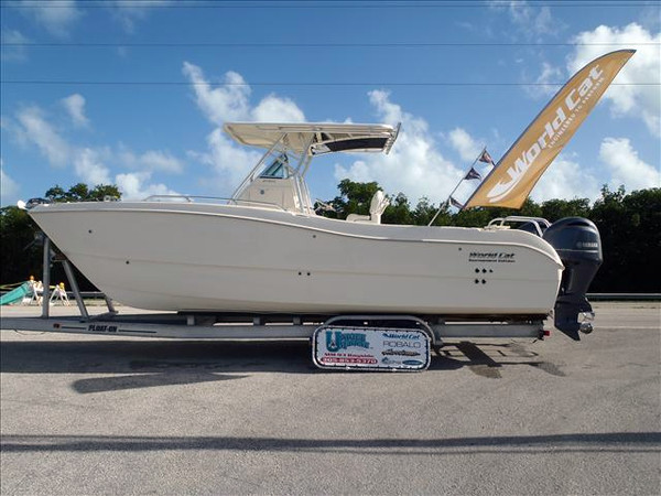 New World Cat Center Console 270 TE Power Catamaran Boat For Sale