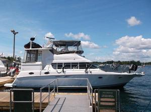 Used Silverton 422 Aft Cabin With Dinghy Davit Motor Yacht For Sale