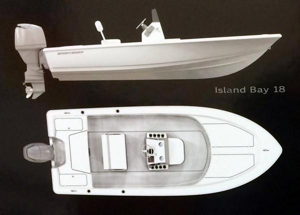 New Sportsman 18 ISLAND BAY Boat For Sale