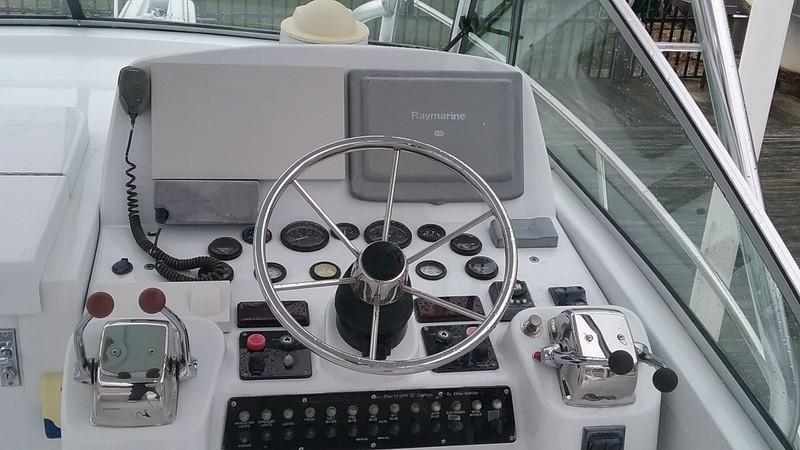 2015 Used Cabo Just Lowered/ Raised Helm Deck Express