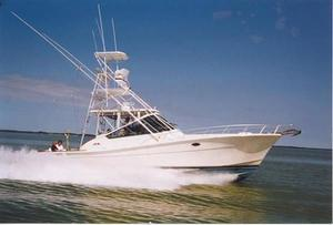 Used Topaz Express Royale Full Tower Express Cruiser Boat For Sale