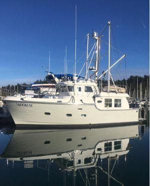 Used Nordhavn 40 MK II Trawler Boat For Sale