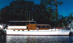 Used Trumpy Flush Deck Cruiser Motor Yacht For Sale