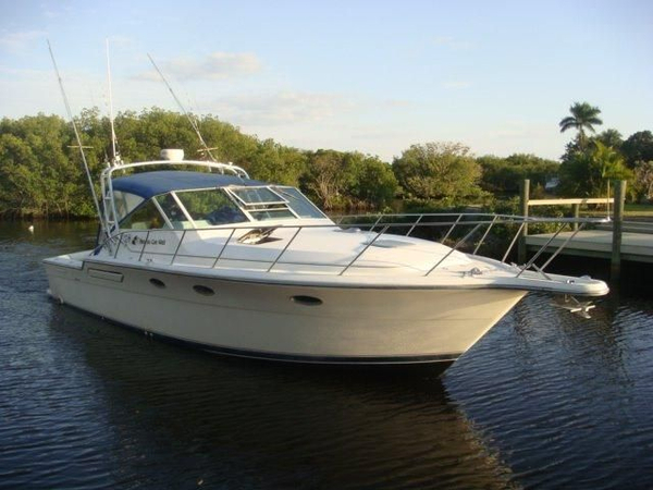"Used Tiara Open ""fast Boat"" Express Cruiser Boat For Sale"