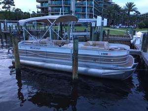 Used Xcursion 23FC Pontoon Boat For Sale