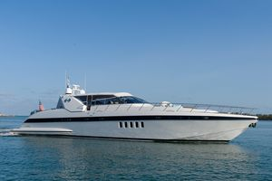 Used Mangusta 80 Express Cruiser Boat For Sale