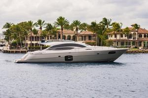 Used Pershing 74' Express Cruiser Boat For Sale