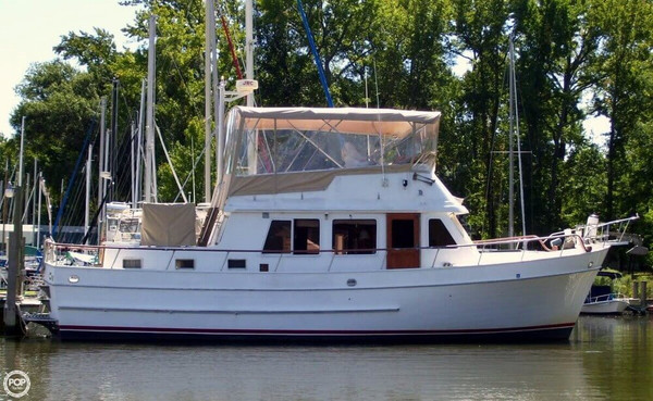 Used Marine Trader 39 Trawler Boat For Sale
