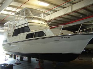 Used Marinette Alumi Cruiser Motor Yacht For Sale