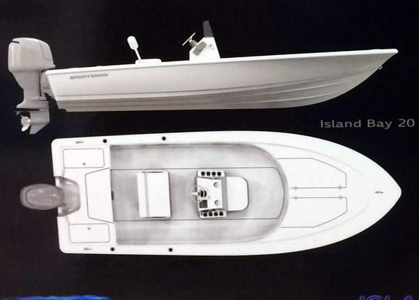 New Sportsman 20 Island Bay Boat For Sale