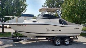 Used Striper 2100 WA Center Console Fishing Boat For Sale