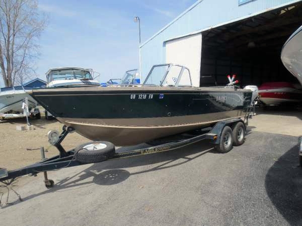 Used Lund 2100 Fish Freshwater Fishing Boat For Sale