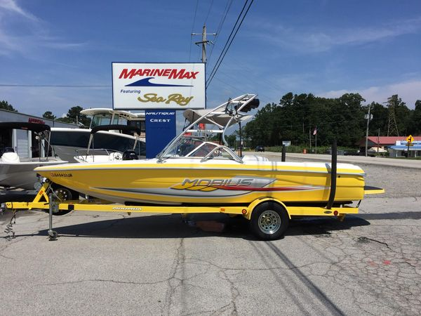 Used Moomba Mobius Sports Fishing Boat For Sale