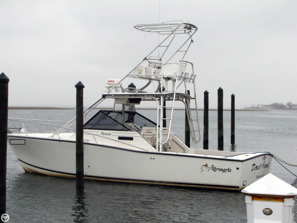 1993 used albemarle 27 express fisherman sports fishing for Express fishing boats for sale