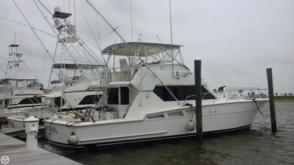 Used Hatteras 54 Convertible Sports Fishing Boat For Sale