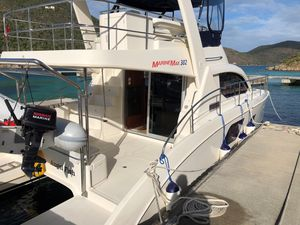 Used Aquila 38 Power Catamaran Boat For Sale