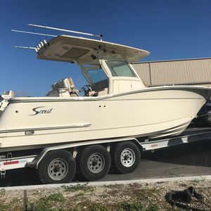Used Scout Boats 300 LXF Sports Fishing Boat For Sale