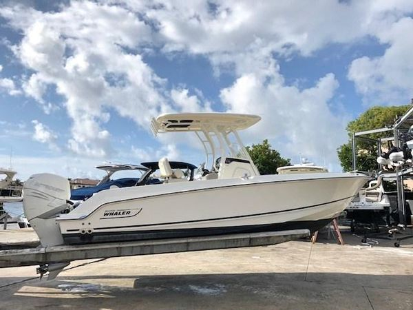 Used Boston Whaler 230 Outrage Sports Fishing Boat For Sale